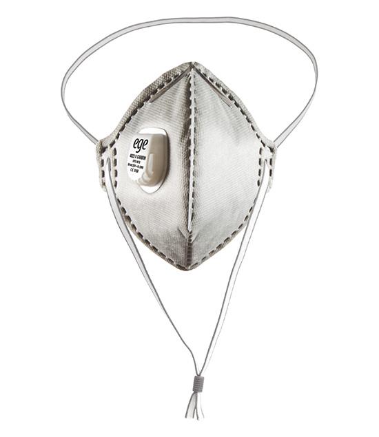 EGE 4023 V FFP2 NR D Aktif Karbon Ventilli Maske 200'lü
