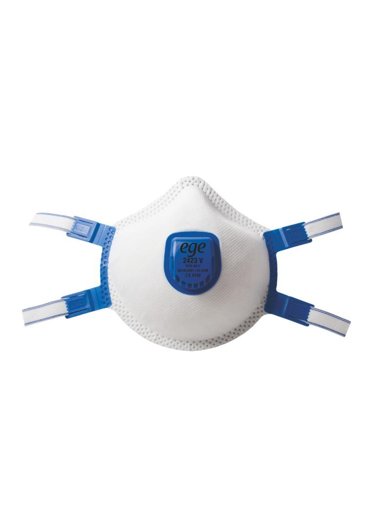 EGE 2423 V FFP2 NR D Ventinli Maske 50'li