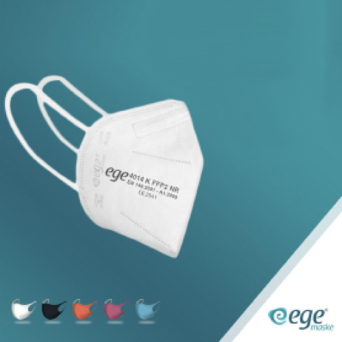 EGE FFP2 4014-K N95  Ventilsiz Maske 50'li